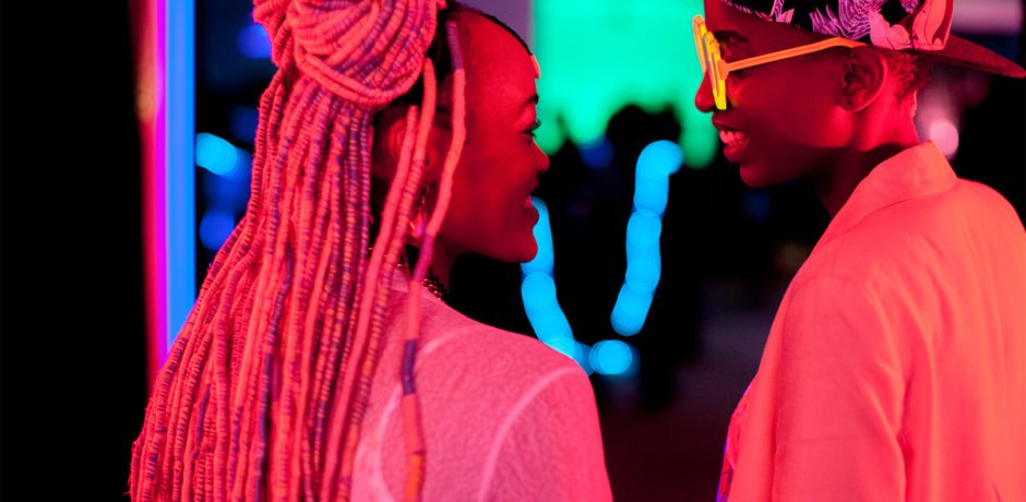 We're honoured to be welcoming Kenyan film-maker @Wanuri for a Q&A after the screening of @rafikimovie on Sunday at 6pm. Read this @gaytimesmag preview http://bit.ly/2IcvXDM. Three screenings next week, more here http://bit.ly/2Uc1FT4