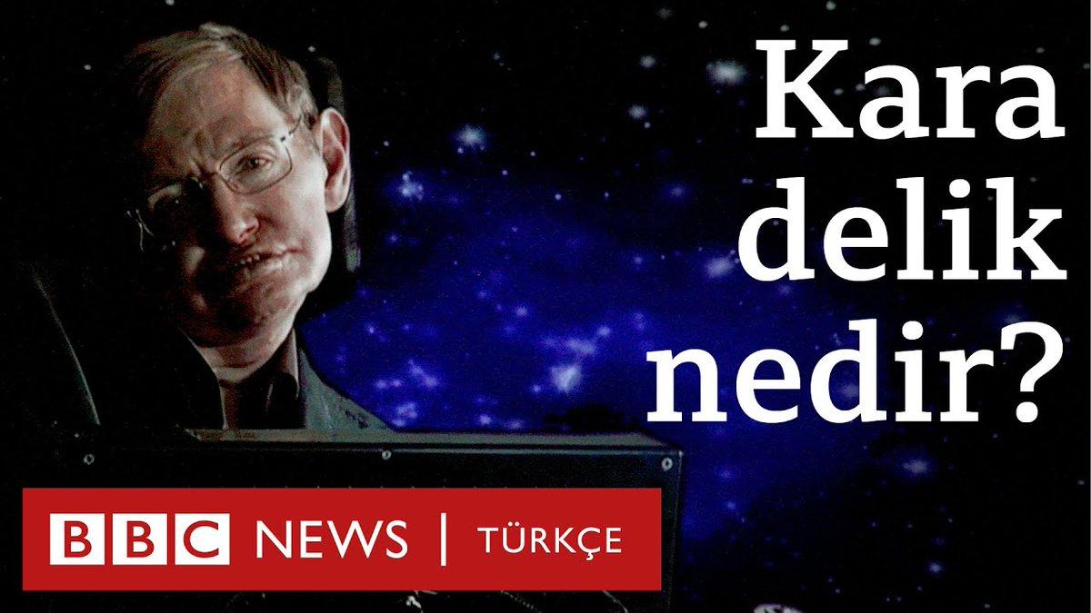 Kara delik nedir? Stephen Hawking'in sesinden dinleyin https://bbc.in/2UuALej