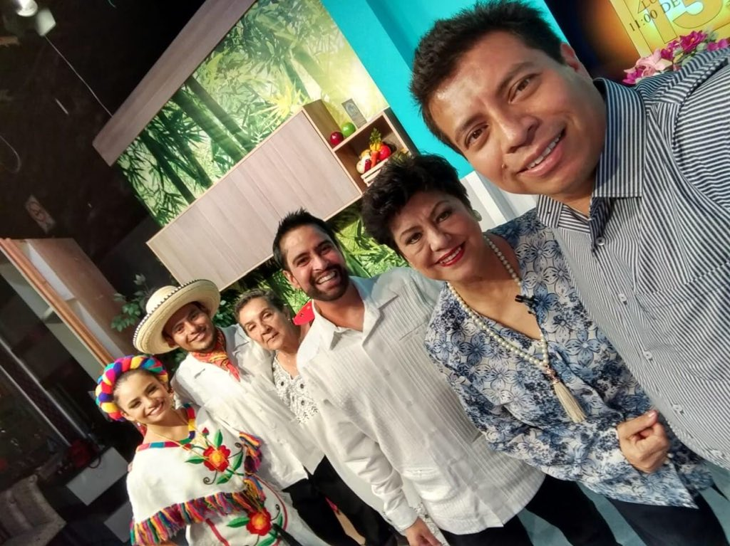 The POP Movement was invited by #ChannelNine for an interview to talk about its upcoming, first-of-its-kind #POP #YouthFest to be held in San Cristóbal, #Chiapas on May 15-16, 2019. @enriquevazquezc