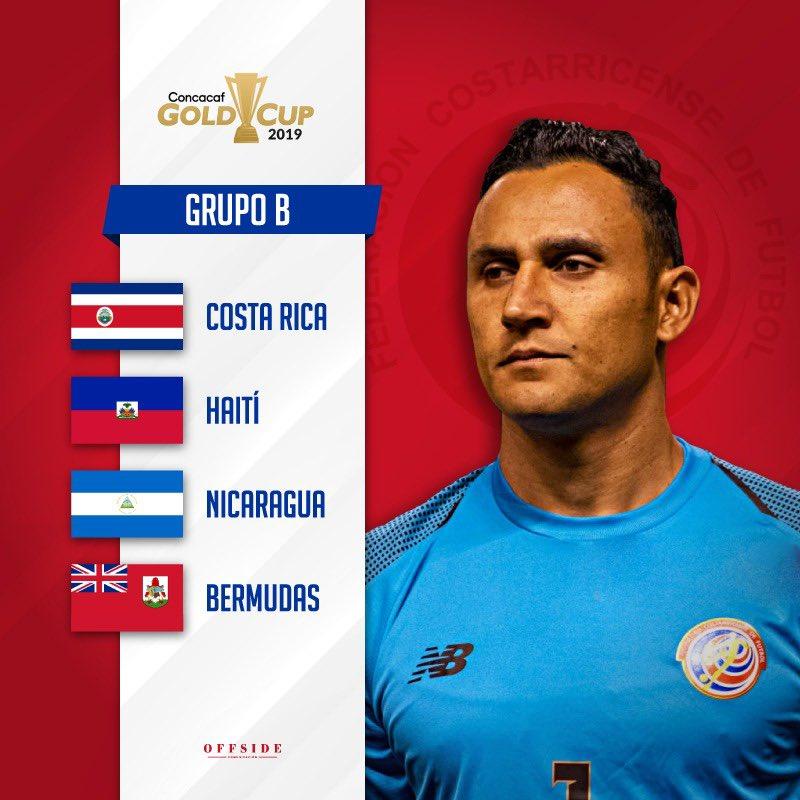 Ya tenemos rivales para la Copa Oro. Un reto, una ilusión, un objetivo... #VamosTicos!!! #GoldCup2019 #LaSele