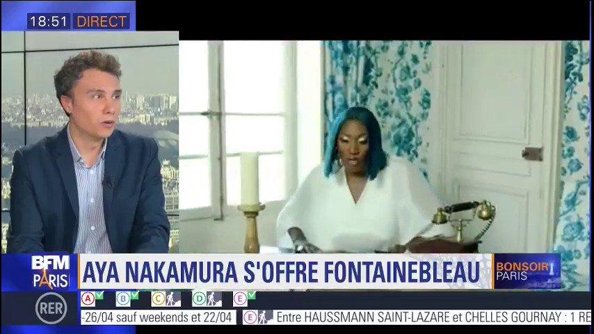 Aya Nakamura s'offre le château de Fontainebleau