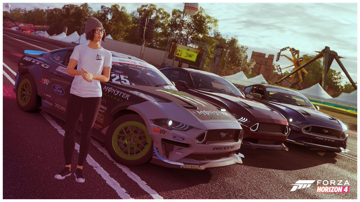 Playground games on twitter you could have won 8 brand new cars 2018 ford mustang rtr spec 5 2018 88 rtr mustang 2018 25 rtr mustang 1970
