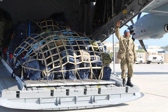 تركيا تخرج أوّل دفعة ضباط صف في الصومال من قاعدتها العسكرية D34QEKzW4AE-ZQi