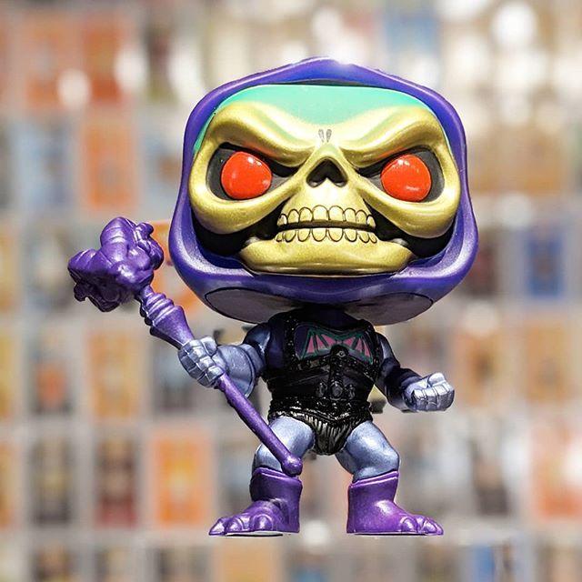 Funko Pop! - Masters of the Universe -  Battle Armor Skeletor (Metallic) - Gemini Collectibles exclusive  #funko #funkopop #mastersoftheuniverse #skeletor #battlearmorskeletor #metallic #geminicollectibles #funkopopexclusive #funkopopphotography #popcoll…