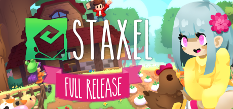 Staxel, the cutest creative village life game, is now fully launched on Steam 🎉 including the new ⚗️Magic Update🍄!   Grab a few of your friends and head on down to the farm 🐄🐑🐤   http://store.steampowered.com/app/405710/Staxel/…