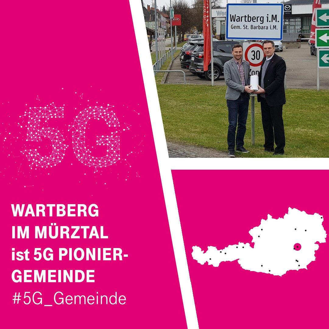 067aa312892633 ... den 5G-Router von T-Mobile entgegen genommen. http   t.at 5g-pionierland   5G Gemeinde  digitaleZukunftÖsterreichs  telekomwallpic.twitter .com Un98vxaq7W