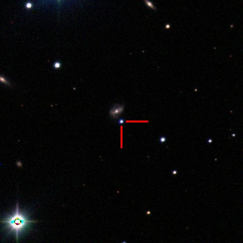 The Type Ia supernova 2019cpe in 2MASX J09501327-1401298, 750 million light years away. #ucsctransients #swopetelescope