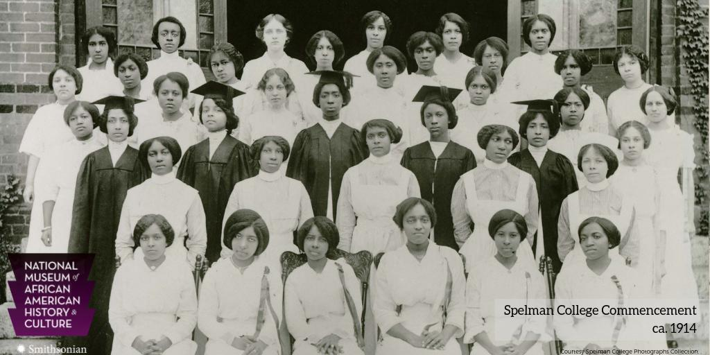 #OTD in 1881, @SpelmanCollege opened in Atlanta, GA in the basement of Friendship Baptist Church. Founded as the Atlanta Baptist Female Seminary, the school&#39;s name changed to Spelman College in 1924. Notable alumni include Alice Walker &amp; Marian Wright Edelman.  #APeoplesJourney<br>http://pic.twitter.com/61CJNVdU01