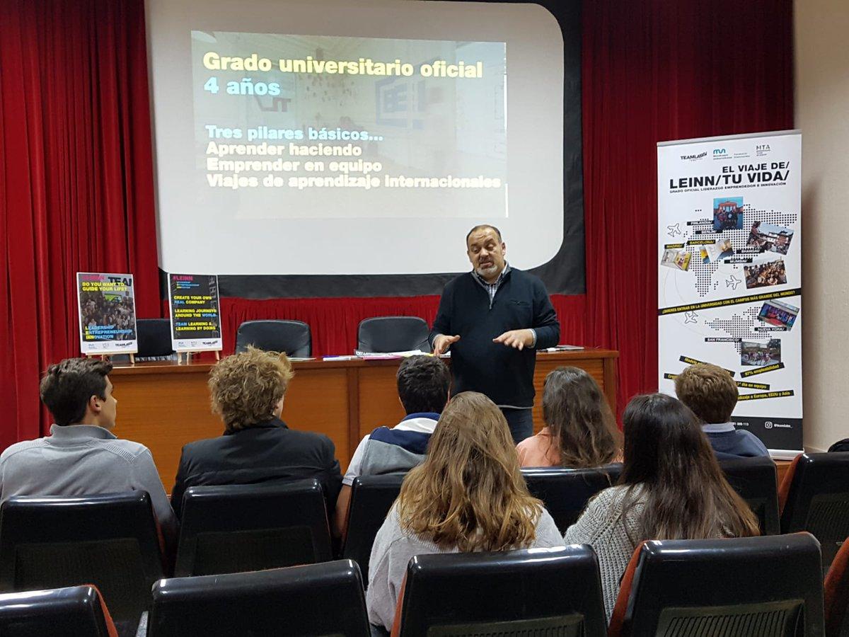 #BACMontesion Presentación del grado #LEINN de @teamlabs en nuestro colegio ¡Gracias por venir a @ColeMontesion !