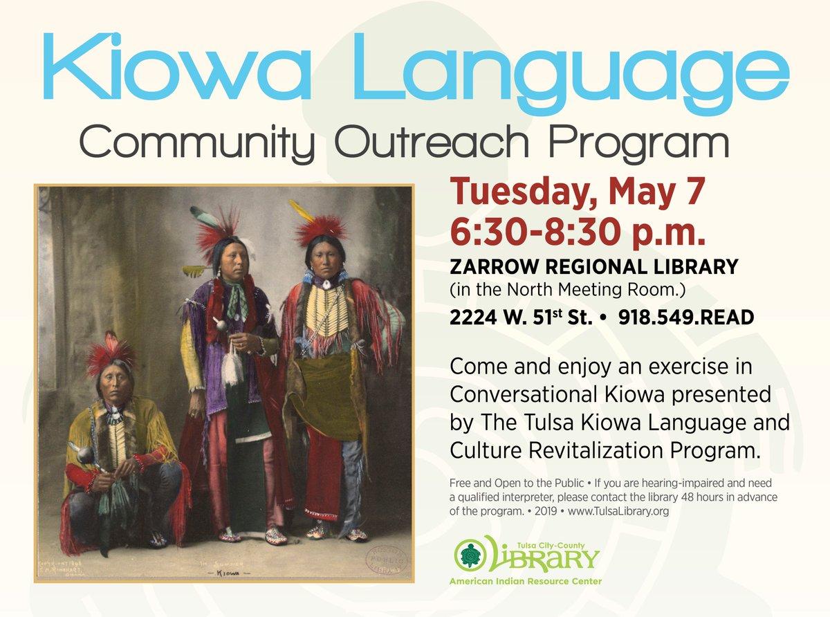 Kiowa language and culture revitalization program