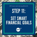 Image for the Tweet beginning: Step 11 of #FinancialLiteracyMonth is