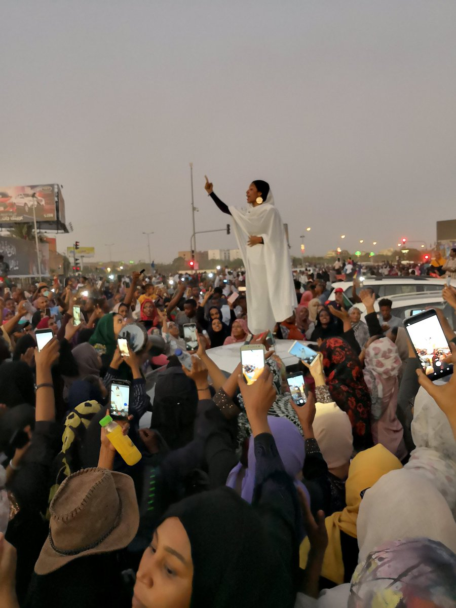 Power to the people of Sudan!