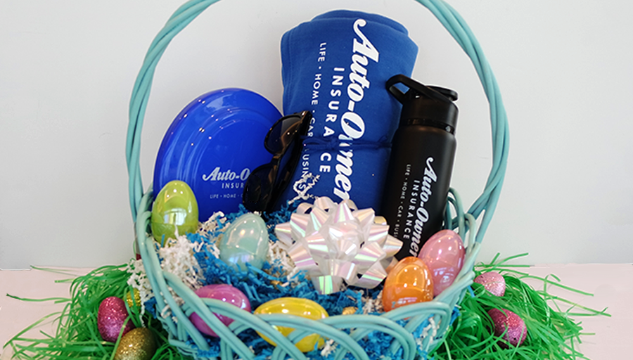 The #Easter 🐰 did its shopping at our logo shop this year. RT & Follow for a chance to win this basket of A-O swag! #giveaway