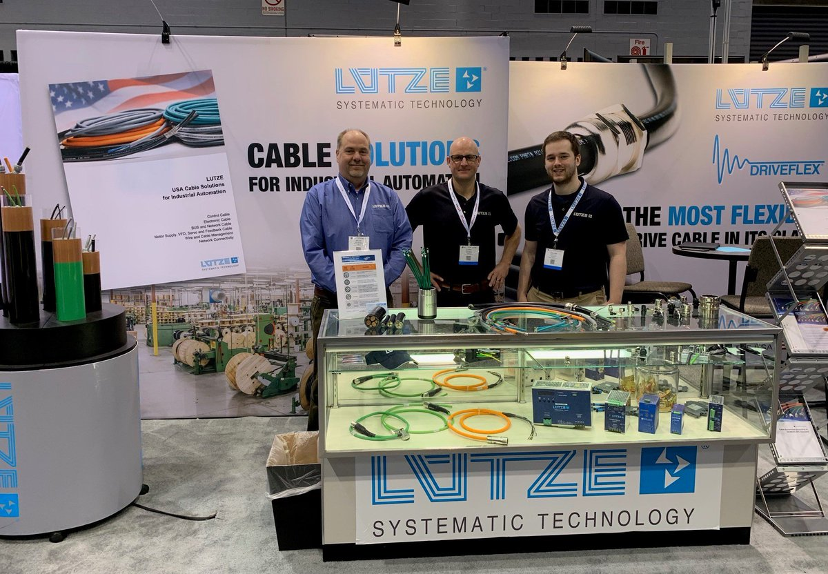 What a great week at #Automate2019! Today is your last chance to visit LUTZE...