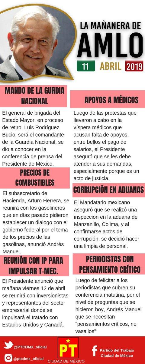 PT CDMX's photo on #conferenciamañanera