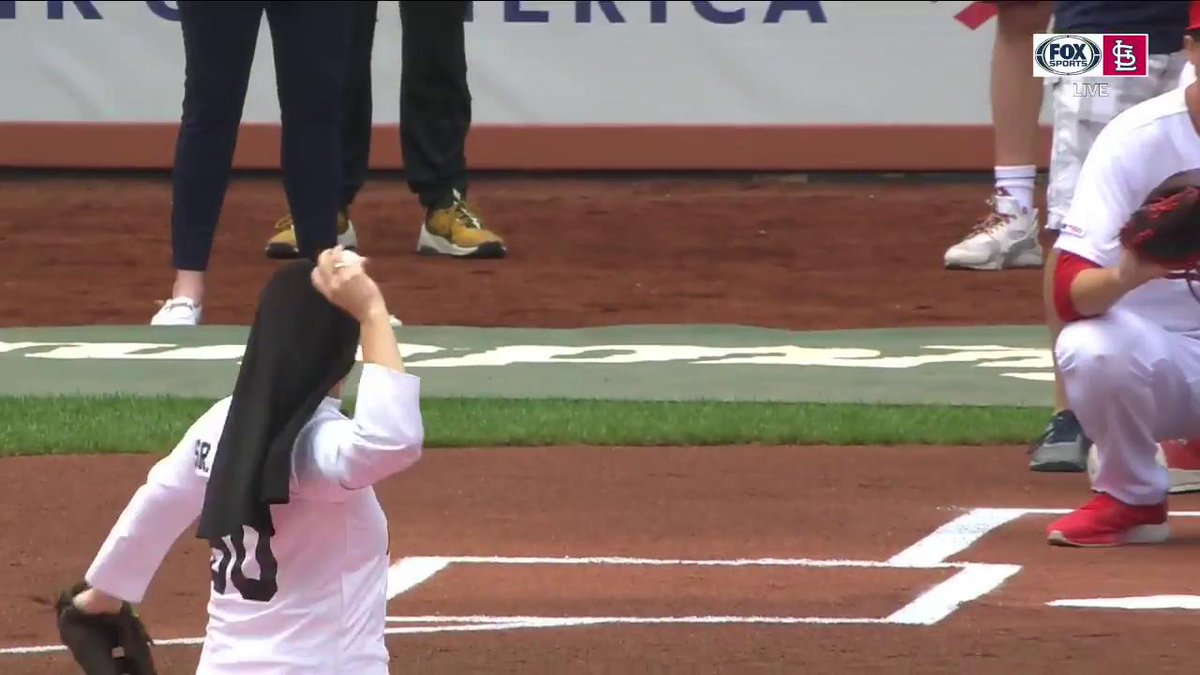 Video: A Nun Just Threw Out The Best First Pitch Of The MLB Season