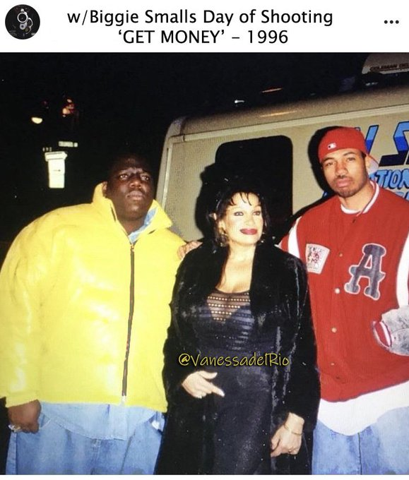 1 pic. Darlings #ThrowbackThursday 1996 Day of Video Shoot *Get Money  https://t.co/bgz4nlCSnO   #NotoriousBIG