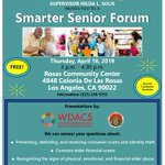 Image for the Tweet beginning: Our next Smarter Senior Forum