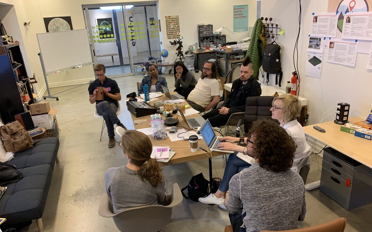 It is exciting to have the @FieldKitOrg team at @conservify for the next two days for a design summit to plan our hardware and software development moving forward. So much exciting work to be done bringing @FieldKitOrg to life!