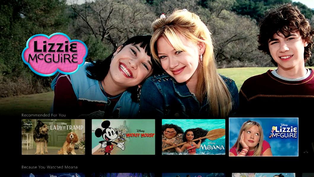 disney plus lizzie mcguire