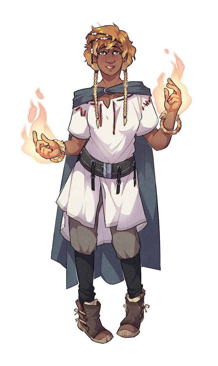 """Aasimar Sorcerer lisa richards on twitter: """"meoan the aasimar sorcerer, for"""