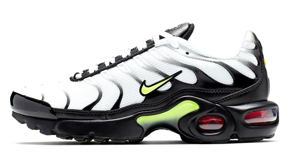 f32261691c The Nike Air Max TN White / Neon Junior Online here https://t