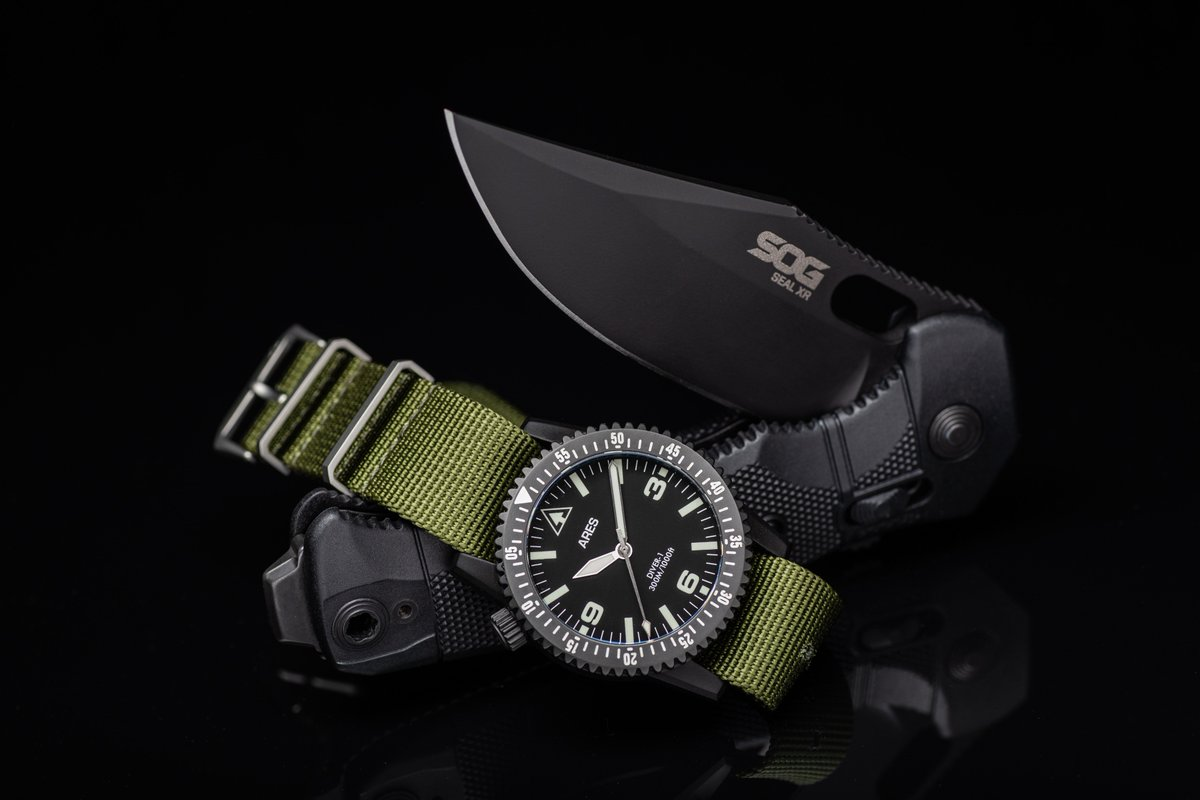 Great combo and even greater cause! Bid on this SOG SEAL XR +