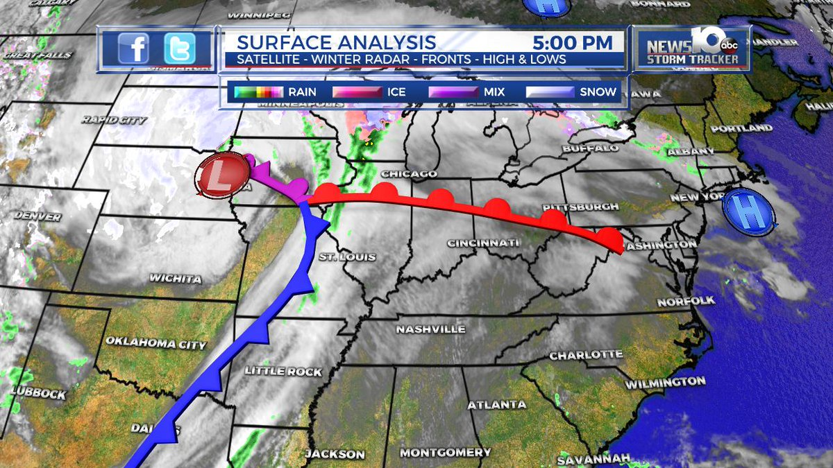Steve Caporizzo On Twitter Latest Surface Map Warm Front South - Us-surface-map