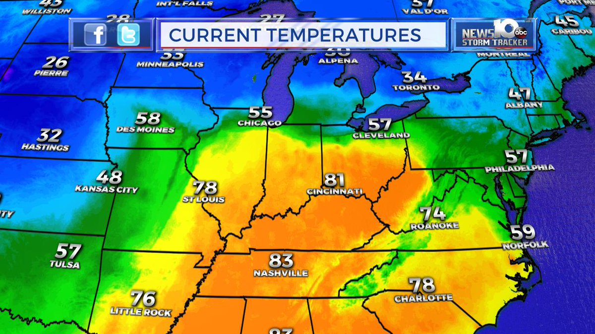 Steve Caporizzo On Twitter Latest Surface Map Warm Front South - Us-front-map