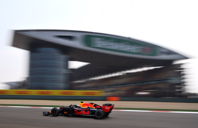 FP1 for the #ChineseGP has…