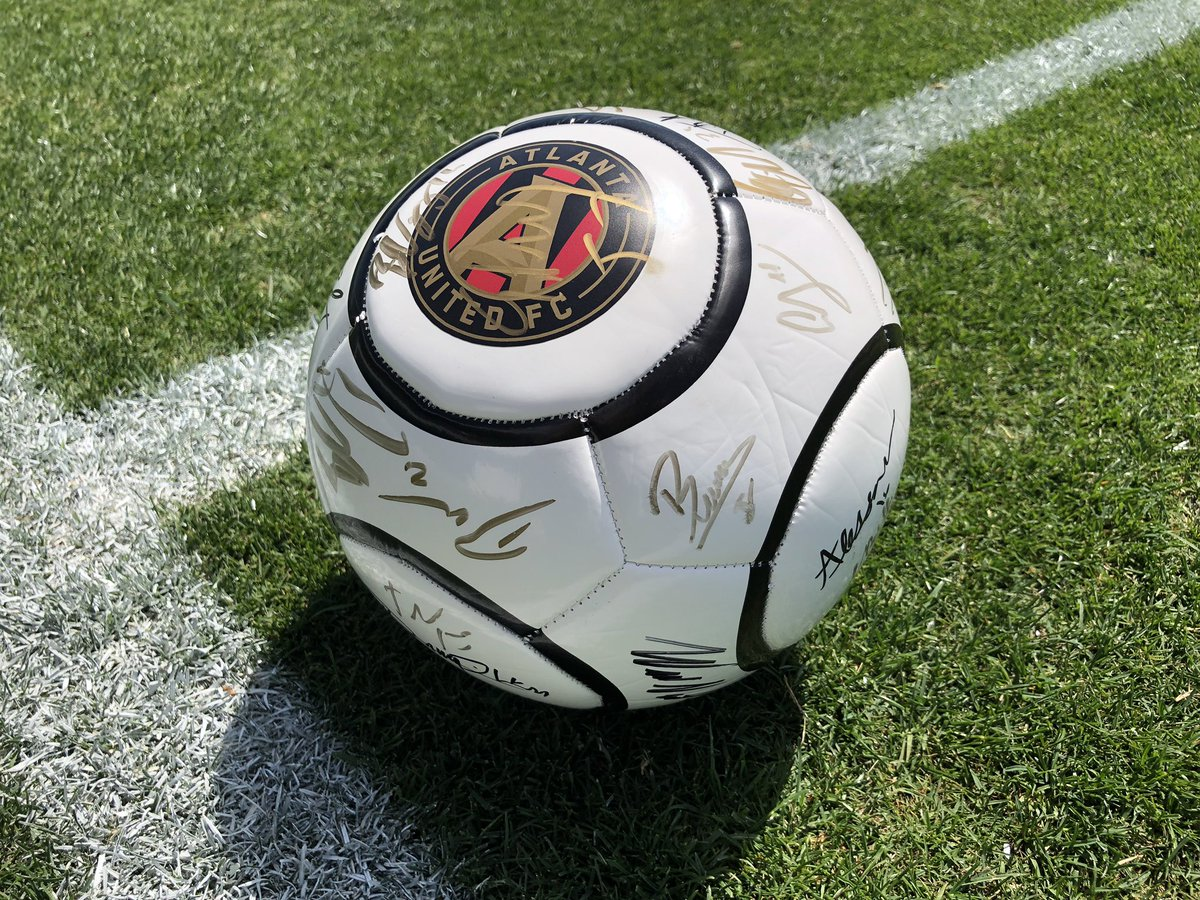 Q: Where's the ONLY place to win a ⚽️ ball signed by @ATLUTD & #ATLUTD2?