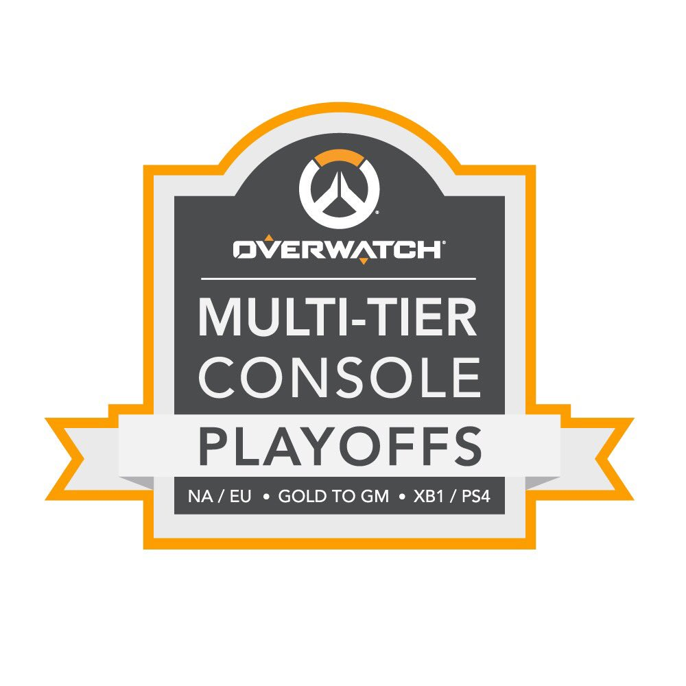 NEWS: Console Overwatch Multi-Tier Tournament starting soon