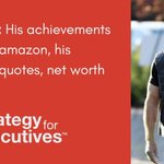 Image for the Tweet beginning: Learn more about Jeff Bezos: