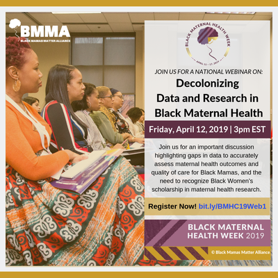 #BMHW19 Webinar #1 REGISTER NOW: http://buff.ly/2V7fi7u  Webinar will be tomorrow April 12th @ 12pm PDT