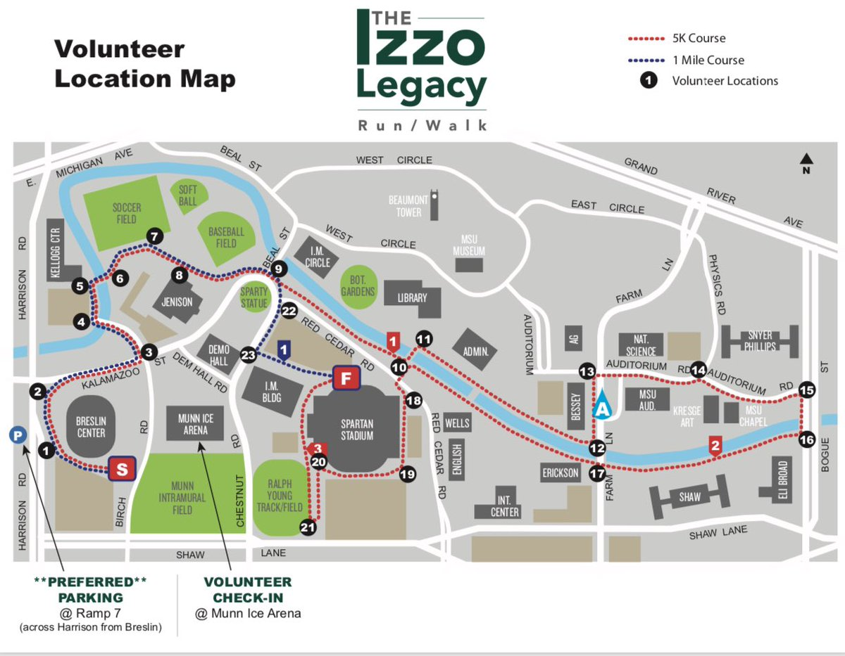 If you are a Volunteer and want to see the map course of volunteer locations this is for you!