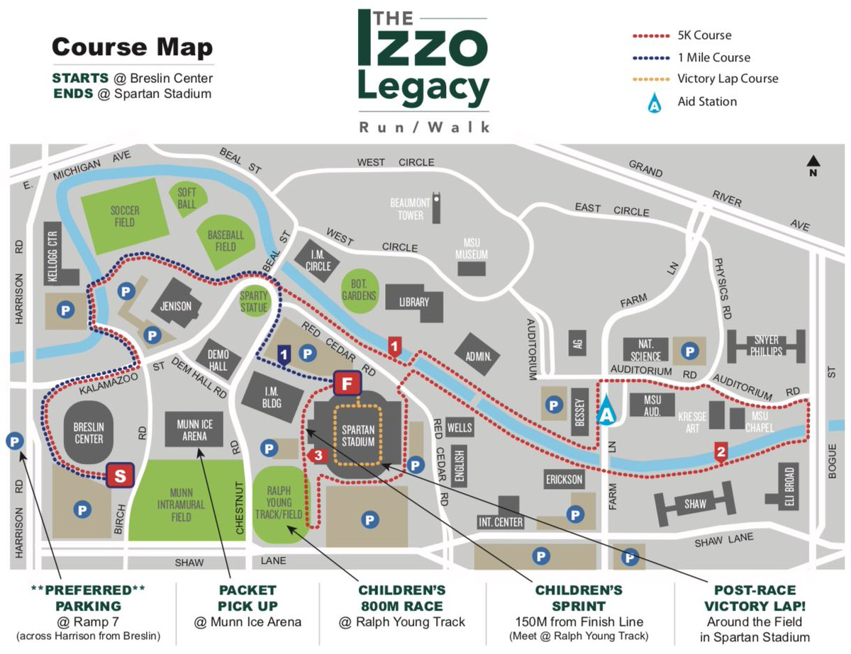 Super excited to share the race map for our participants!