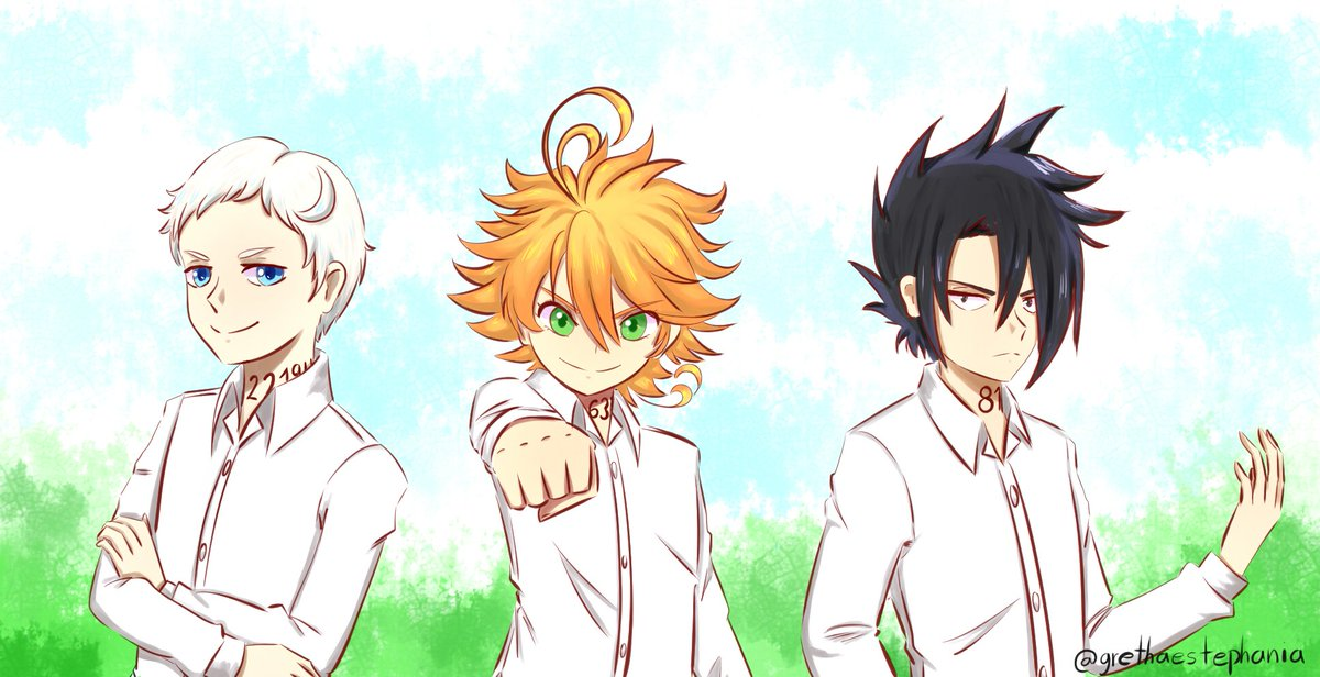 "Someone who likes ""the promised neverland""? Art by me"