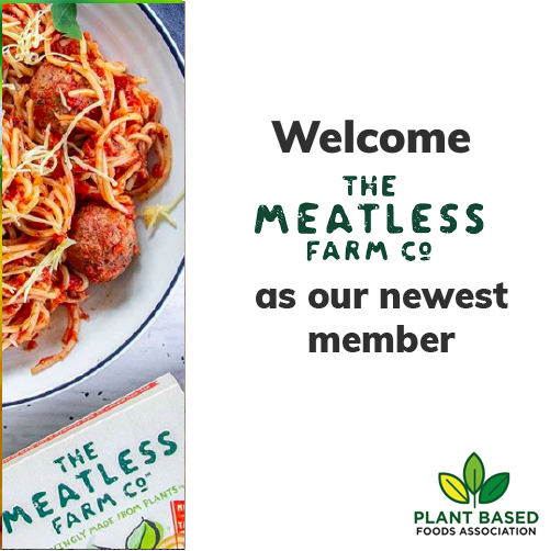 A big welcome to @MeatlessFarm! We are so thrilled to have add you to the family.