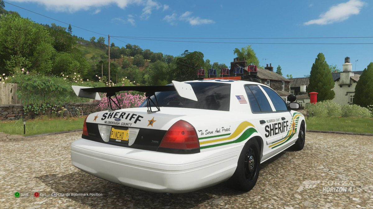 Cop Car List (With light bars and without) - Forza Horizon 4