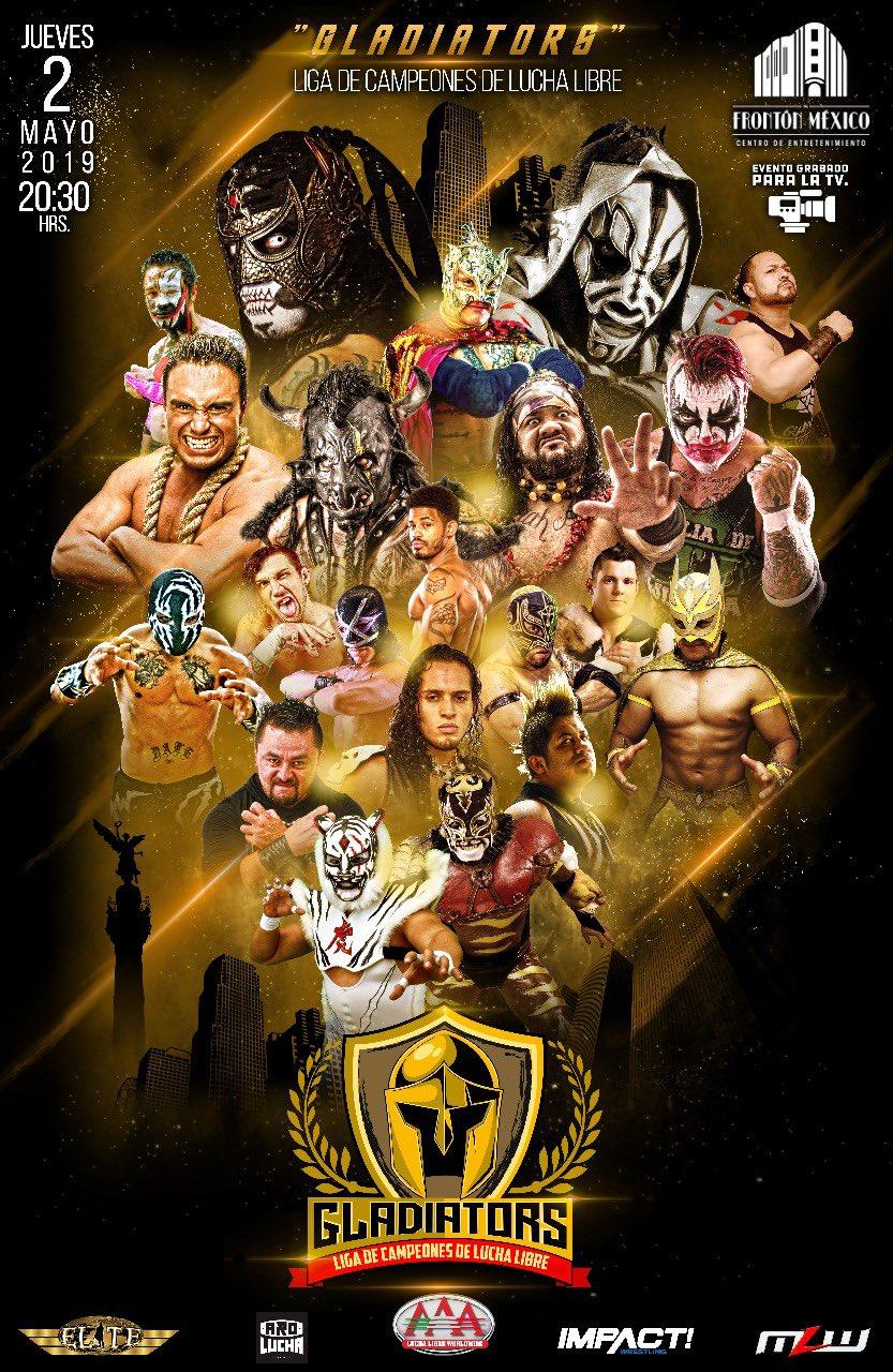 Gladiators: Liga de la Campeones, se disputarán 5 títulos 2