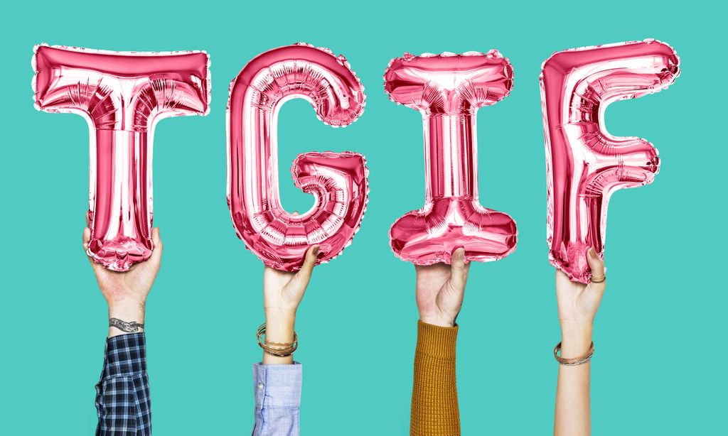 #HappyFriday! A day to finish your goals for the week! #weekend #goals #TGIF