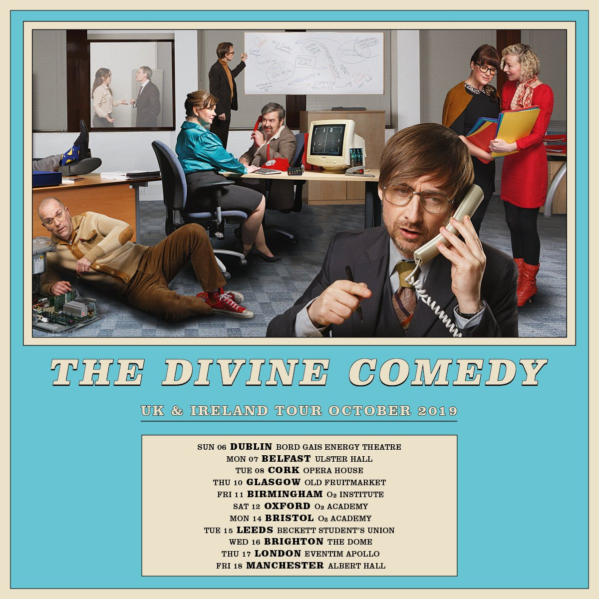 The Divine Comedy on Twitter: