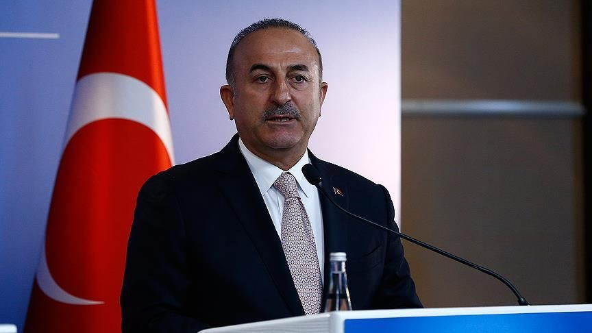 Only a two-state solution can bring peace and calm to the Middle East – Turkey's foreign minister Mevlut Cavusoglu