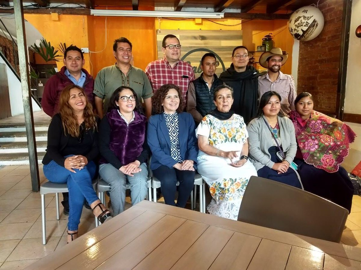 Visit to San Cristóbal de Las Casas on April 9!  Discussions took place with various indigenous and local climate action leaders from #Chamula and #Zinacantan. The team also met with the Coordinator of the Department of Agriculture, Society, and Environment, San Cristobal.  
