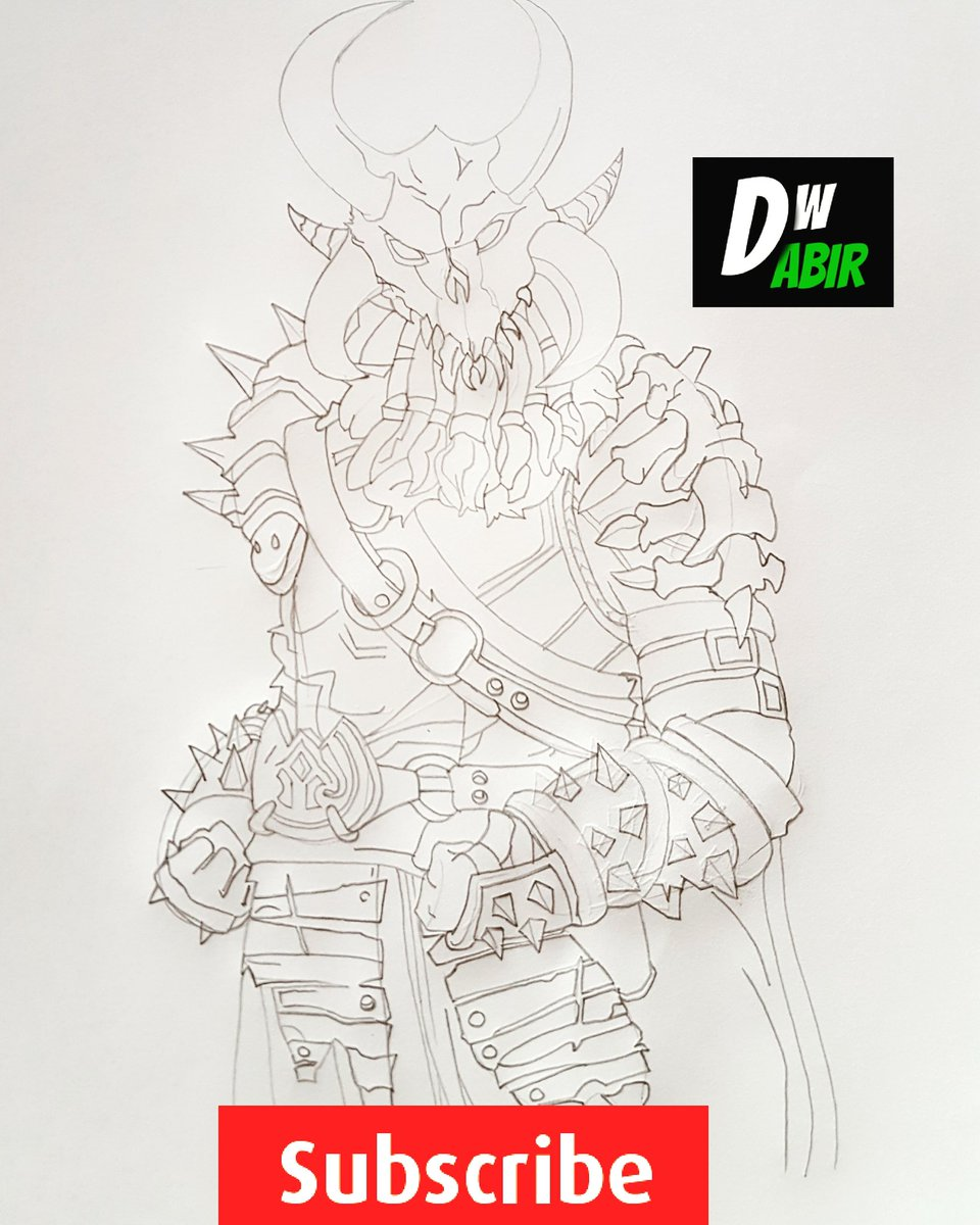 Fortnite ragnarok drawing drawwithabir dwabir video will be available soon on my
