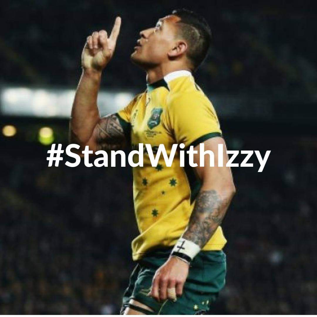 #StandWithIzzy