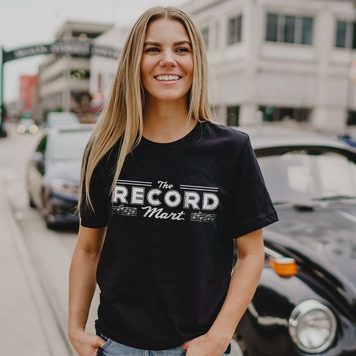 New! The Record Mart was a music store located in downtown Rockford from 1955-1977. - #RecordMart #music #recordstore #Rockford #RockfordIL #rockfordillinois #Rawkford #RFD #BuyWBL #GoRockford #815 #tee #tshirt #shirt #fashion #style #clothing #history #nostalgia #retro #vin…
