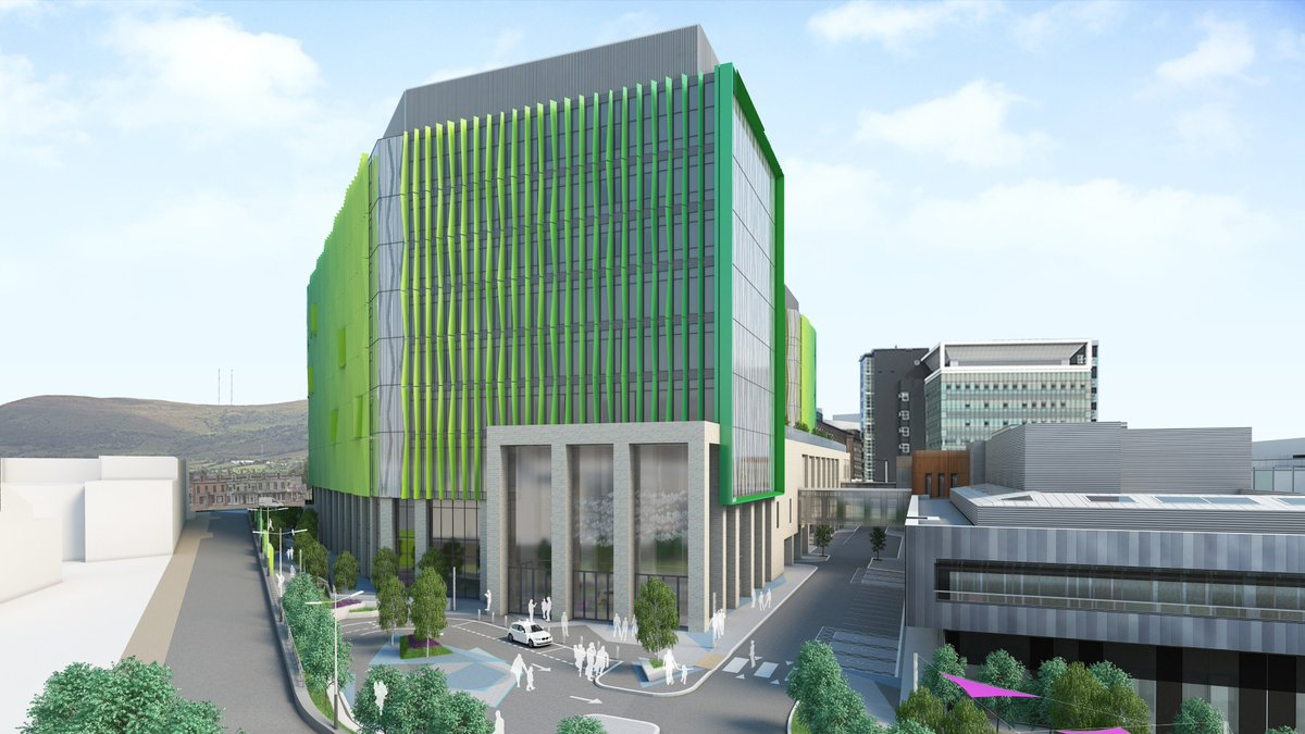 Delighted to have secured planning permission for the £170m New Children's Hospital for Belfast Health & Social Care Trust.A major milestone for the project team who are on an exciting journey to deliver advanced facilities for the children of Belfast & Northern Ireland.