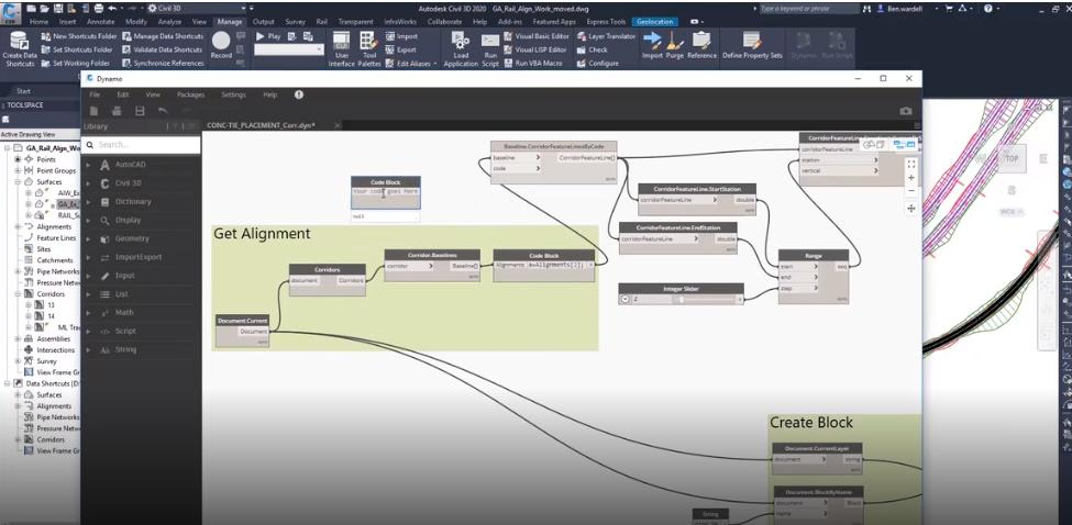 Interesting to see Dynamo for Civil3D 2020. This will generate some innovative workflows @AutodeskCivil3D #technology #CivilEngineering @PentagonSol<br>http://pic.twitter.com/gLRW4WyFLh