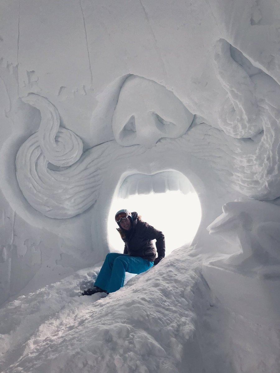 Grotte du Goût, dégustations et animations sur le sommet de la Rossa pour #Sublicimes ! 🧀⛷👌🏻 #maplagne